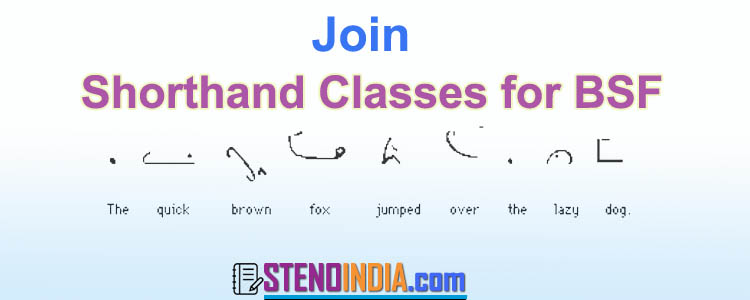 Shorthand Classes for BSF