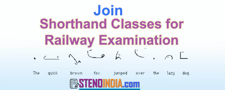 Shorthand Classes for Railway