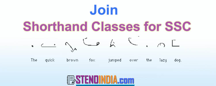 Shorthand Classes for SSC